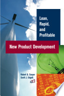 Lean  Rapid  and Profitable New Product Development