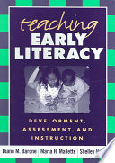 Teaching Early Literacy book