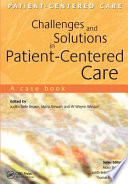 Challenges and Solutions in Patient Centered Care Book PDF