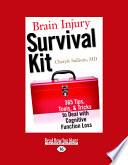 Ebook Brain Injury Survival Kit Epub Cheryle Sullivan Apps Read Mobile