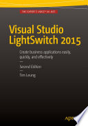Visual Studio Lightswitch 2015