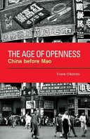 The Age of Openness