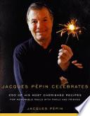 Book Jacques P  pin Celebrates