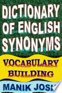 Dictionary of English Synonyms