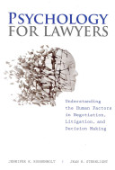 Psychology For Lawyers