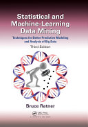 Statistical and Machine-Learning Data Mining: