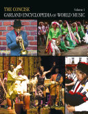 download ebook the concise garland encyclopedia of world music pdf epub