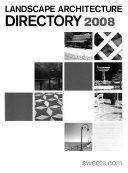 Landscape Architecture Directory