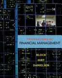 Loose Leaf Foundations of Financial Management with Connect Plus