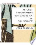 ASP  NET Programming with C    SQL Server