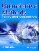 Quantitative Methods:Theory and Applications