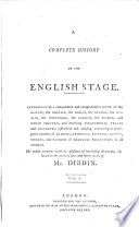 Book I. Containing a Review of the Asiatic, the Grecian, the Roman, the Spanish, the Italien, the Portugese, and the German Theatres