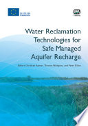 Water Reclamation Technologies for Safe Managed Aquifer Recharge