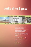 Artificial Intelligence A Complete Guide 2020 Edition
