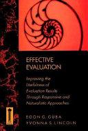 Effective Evaluation