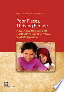 Poor Places, Thriving People For Policymakers In The Middle