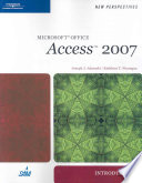 New Perspectives on Microsoft Office Access 2007  Introductory