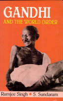 Gandhi and the World Order