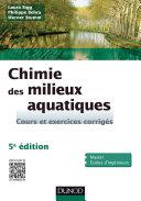 Chimie des milieux aquatiques - 5e édition