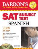 Barron s SAT Subject Test Spanish