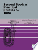 Practical Studies for Tuba  Book II