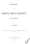 History Of Santa Cruz County California