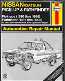 Nissan Pick Ups Automotive Repair Manual