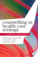 Counselling In Health Care Settings