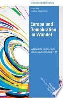 Europa und Demokratien im Wandel