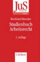 Studienbuch Arbeitsrecht