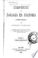 Compendio di zoologia ed anatomia comparata