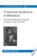 Toward an Aesthetics of Blindness Pdf/ePub eBook