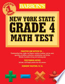 Barron s New York State Grade 4 Math Test