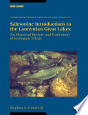 Salmonine Introductions To The Laurentian Great Lakes book