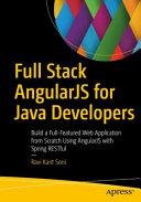 Full Stack Angularjs For Java Developers
