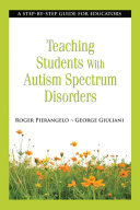 download ebook teaching students with autism spectrum disorders pdf epub