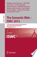 The Semantic Web    ISWC 2012
