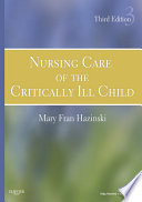 Nursing Care Of The Critically Ill Child E Book