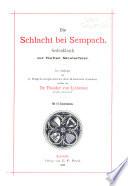 Die Schlacht bei Sempach