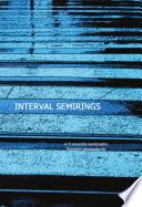 Interval Semirings