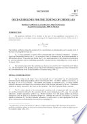 Oecd Guidelines For The Testing Of Chemicals Section 1 Physical Chemical Properties Test No 117 Partition Coefficient N Octanol Water Hplc Method