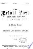 THE MEDICAL PRESS AND CIRCULAR ESTAB 1838