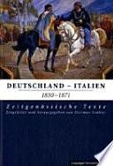 Deutschland-Italien 1850-1871