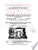 Introduction L Histoire Moderne G N Rale Et Politique De L Univers
