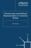 download ebook thomas hare and political representation in victorian britain pdf epub