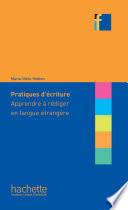 Collection F   Pratiques d   criture   Apprendre    r  diger en langue   trang  re