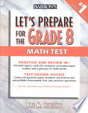 Let s Prepare for the Grade 8 Math Test