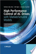 High Performance Control of AC Drives with Matlab   Simulink Models