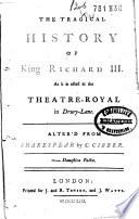 The Tragical History of King Richard III