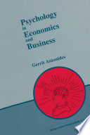 Psychology In Economics And Business
